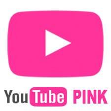 YouTube Pink Icon